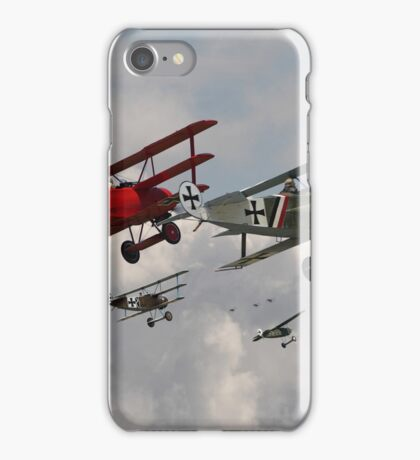 Fokker Squadron - 'Contact' iPhone Case/Skin