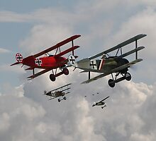 Fokker Squadron - 'Contact' by warbirds