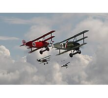 Fokker Squadron - 'Contact' Photographic Print