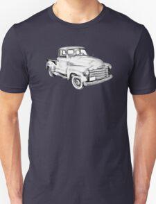 1947 Chevrolet Thriftmaster Pickup Illustration Unisex T-Shirt