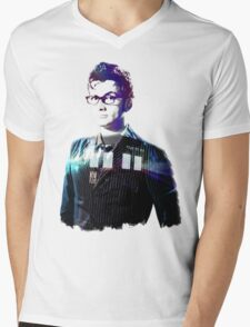 David Tennant - Doctor Who Mens V-Neck T-Shirt