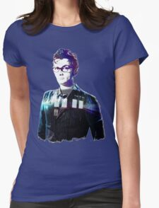 David Tennant - Doctor Who Womens Fitted T-Shirt