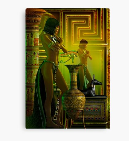 cleo reflections Canvas Print