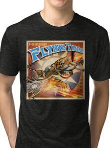 "WINGS Series ""FLYING TIGER"" Tri-blend T-Shirt"