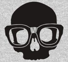 Inner Geek One Color Logo (Black + Large)  by innergeekdesign