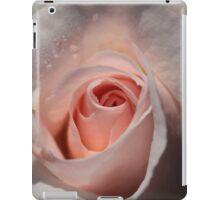 Shell Pink Rose Bud iPad Case/Skin