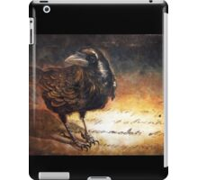 """GHOST WRITER"" iPad Case/Skin"