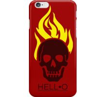 Hell•O iPhone Case/Skin