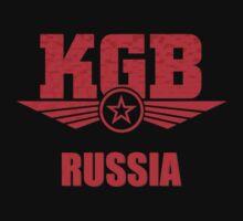 KGB Russia Soviet by Black-Deep