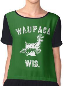 Original WAUPACA WISCONSIN - Dustin's Shirt in Stranger Things! Chiffon Top