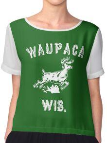 Original WAUPACA WISCONSIN - Dustin's Shirt in Stranger Things! Chiffon Top