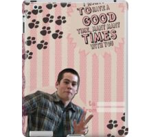 My Teenwolfed Valentine [I Want to Have a Good Time] iPad Case/Skin