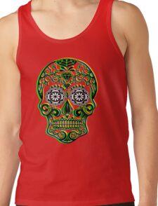 Sugar Skull - Calavera Tank Top