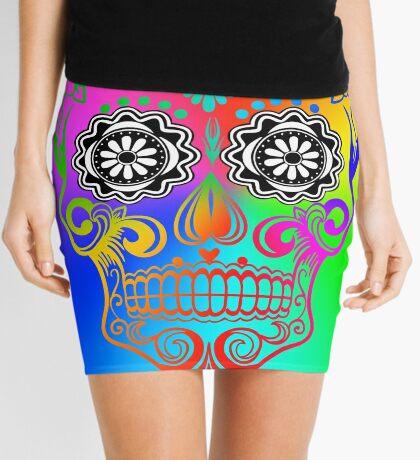 Sugar Skull - Calavera Mini Skirt