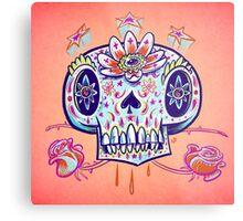 Shooga Skull Metal Print