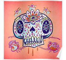 Shooga Skull Poster