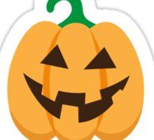 Halloween Jack o lantern pumpkin stickers Sticker