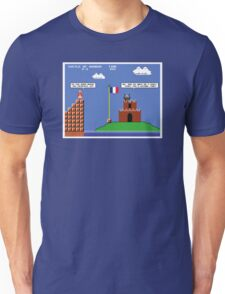 Super Mario Bros Meets The French Taunter Unisex T-Shirt