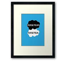 Roseten - TFIOS Framed Print