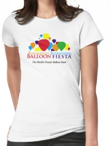 albuquerque balloon Womens Fitted T-Shirt