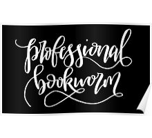Professional Bookworm Poster
