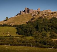 Carreg Cennen Castle near Trap by Leighton Collins