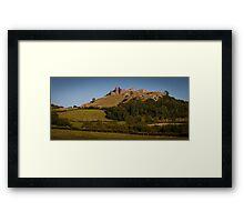 Carreg Cennen Castle near Trap Framed Print