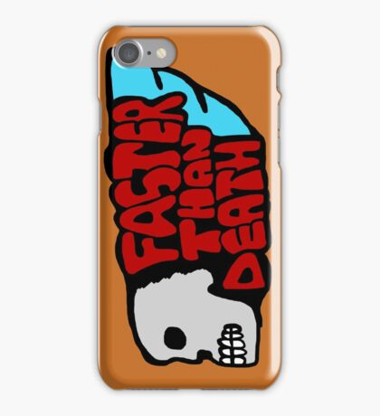 Faster than death wing iPhone Case/Skin