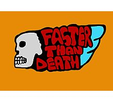 Faster than death wing Photographic Print