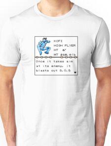 Kofi Kingston: Pokedex edition Unisex T-Shirt