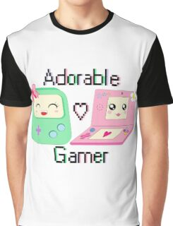 Adorable Gamer ~ Devices Graphic T-Shirt