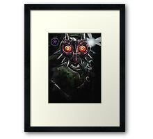 Legend of Zelda Majora's Mask Dark Link Framed Print
