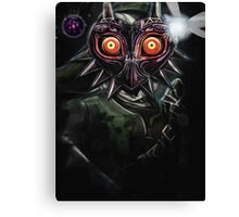 Legend of Zelda Majora's Mask Dark Link Canvas Print
