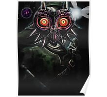Legend of Zelda Majora's Mask Dark Link Poster