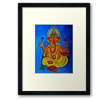 Ganesh, Remover of Obstacles Framed Print