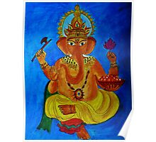 Ganesh, Remover of Obstacles Poster