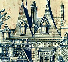 Victorian House In Elsternwick ( Bayside Melbourne )  by John Dicandia ( JinnDoW )