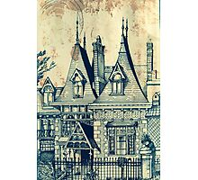 Victorian House In Elsternwick ( Bayside Melbourne )  Photographic Print