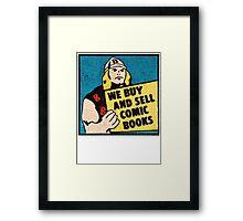 R.BELL THUNDER GOD  Framed Print
