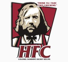 Colonel Sandor: The hound fried chicken (HFC) - Kentucky parody.  by King84