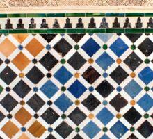 Alhambra Granada tile Sticker