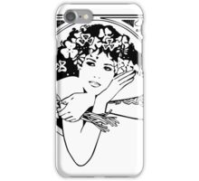 St Patricks girl, Ireland iPhone Case/Skin