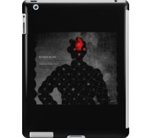 Subject: What you know. 3 iPad Case/Skin