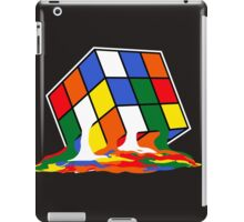 SHELDON COOPER BIG BANG THEORY MELTED MELTING RUBIKS CUBE POP CULTURE iPad Case/Skin