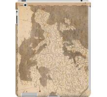 Vintage Map of Europe (1804)  iPad Case/Skin