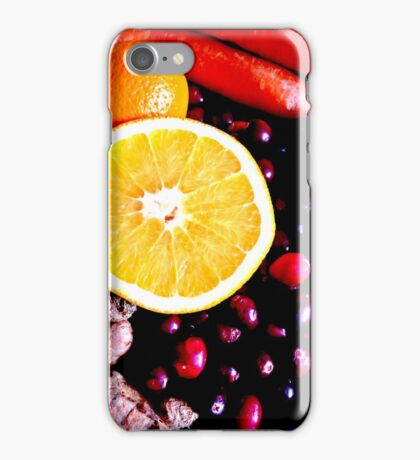 Citrus, Roots And Crannberries iPhone Case/Skin