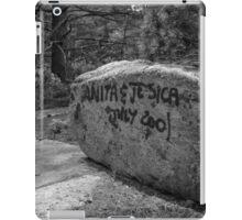 Graffiti Rock iPad Case/Skin