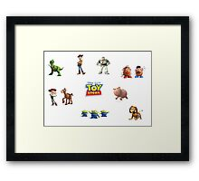 Toy Story Framed Print