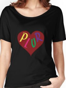 Live The PLUR Life Women's Relaxed Fit T-Shirt