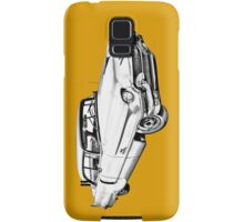 1956 Sedan Deville Cadillac Car Illustration Samsung Galaxy Case/Skin
